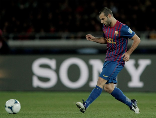 Javier Mascherano Barcelona Al Sadd (Foto: Getty Images)