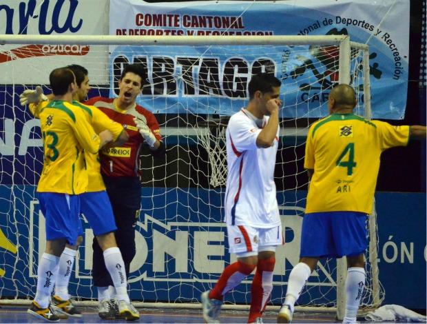 Futsal Brasil Costa Rica (Foto: CBFS/divulgação)