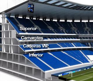 Arena do Grêmio (Foto: Reprodução)