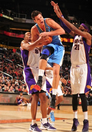 nba Danilo Gallinari Denver Nuggets x Phoenix Suns (Foto: Getty Images)