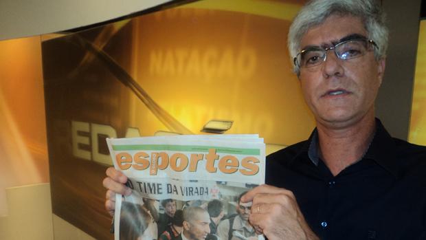 toninho nascimento o globo redação sportv (Foto: leonardo)