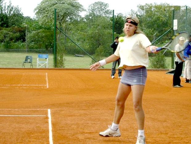 Andrea Paredes, tenista chilena (Foto: Divulgação)