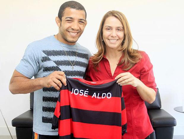 José Aldo Flamengo (Foto: Fernando Azevedo / Fla Imagem)