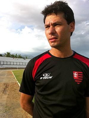 Marcelo Silva empresta sua experiência no Guarasol em 2012 (Foto: Diego Morais / Globoesporte.com)
