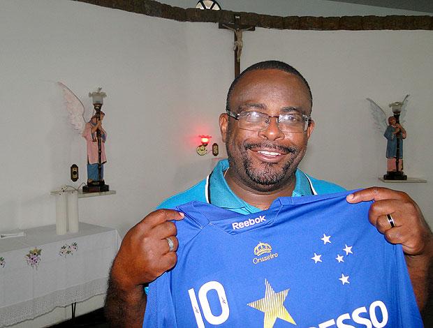 Gilson de Oliveira Filho padre Cruzeiro  (Foto: Elton Novais / Tv Globo Minas )