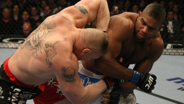 Lesnar x Overeem, MMA (Foto: Getty Images)