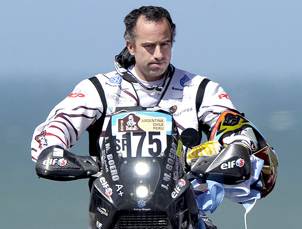 Jorge Martinez Boero no Rally Dakar (Foto: AFP)