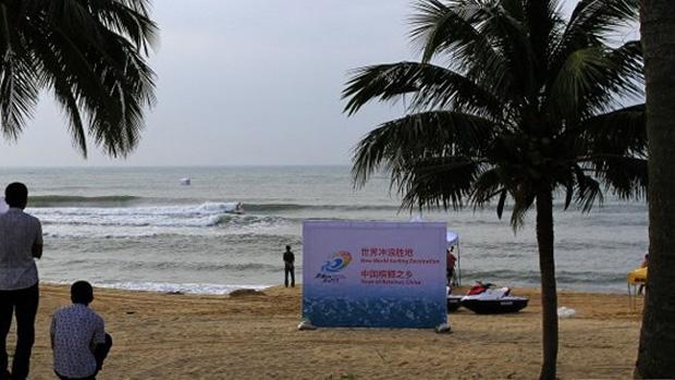 praia da china Isa Cup (Foto: Divulgação / ASP)