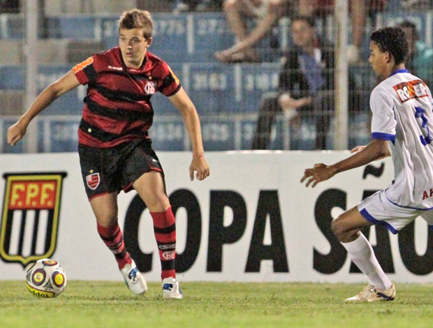 Thomas, Flamengo x Aquidauanense - Copinha (Foto: Cello Messias/Vipcomm)