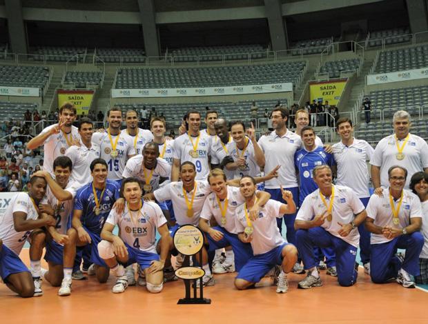 Rio vence o Volta Redonda e conquista o Campeonato Estadual de vôlei masculino (Foto: Divulgação)