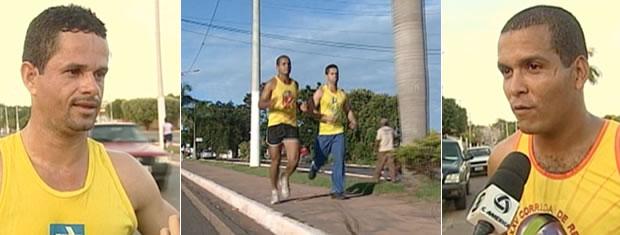 Carteiros se dividem entre trabalho e treino para os 10 Km da Corrida de Reis (Foto: Reprodução/TVCA)