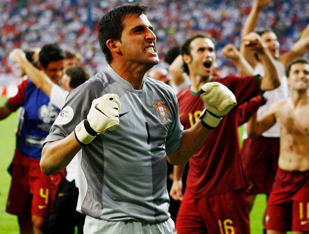 Ricardo, Portugal x Inglaterra Copa do Mundo de 2006 (Foto: Getty Images)