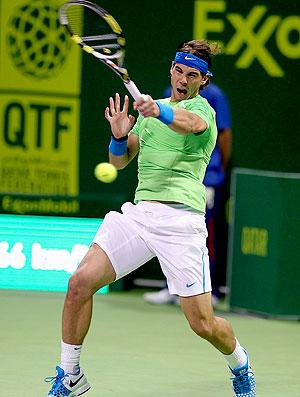 Rafael Nadal tênis Doha quartas (Foto: Reuters)