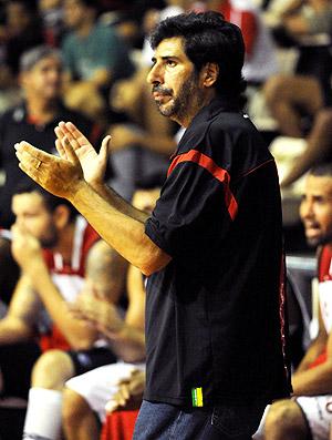 Gonzalo Garcia, técnico do basquete do Flamengo (Foto: Alexandre Vidal / Fla Imagem)