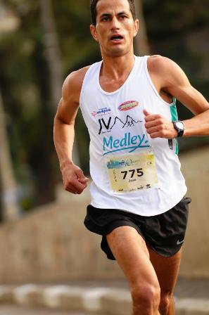 José Virgínio de Moraes Meia Maratona da Disney corrida (Foto: Divulgação)