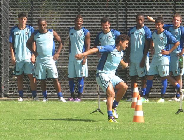 treino físico botafogo (Foto: André Casado / Globoesporte.com)