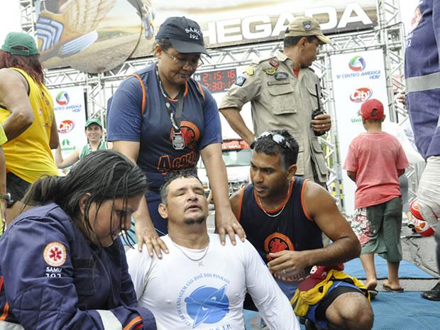 Corrida de Reis superação (Foto: Leandro J. Nascimento/GLOBOESPORTE.COM)