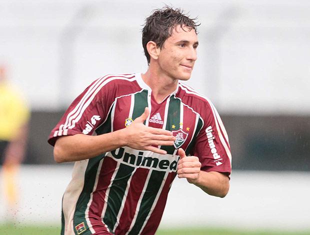 Higor gol Fluminense Copa São Paulo (Foto: Célio Messias / Ag. Estado)