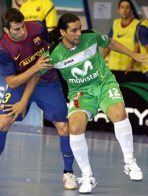 Betão, jogador de futsal do Inter Movistar, da Espanha (Foto: Divulgação)