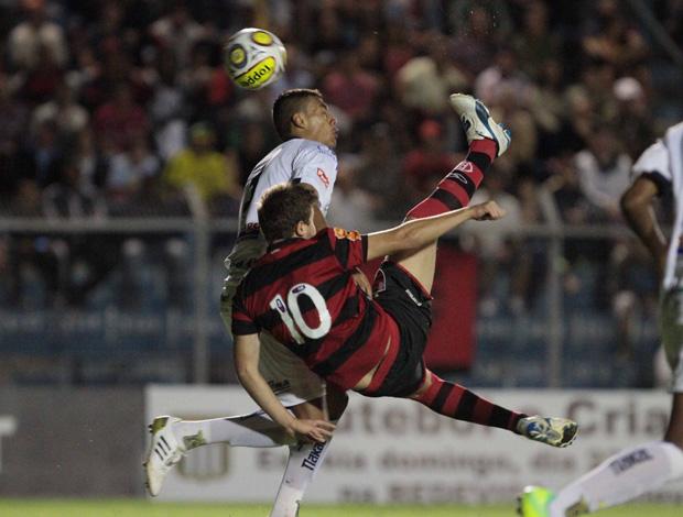 Thomas, São Carlos x Flamengo, Copinha (Foto: Celio Messias/Vipcomm)