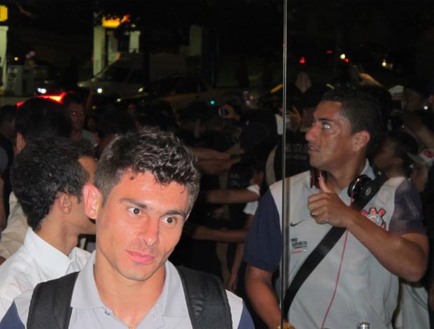 alex ralf corinthians londrina (Foto: Leandro Canônico / Globoesporte.com)