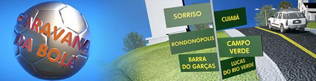 Série Caravana da Bola vai mostrar a preparação dos 10 times de MT para o estadual de futebol (Foto: Reprodução/TVCA)