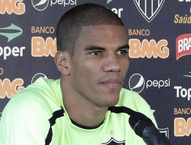 Leonardo Silva, zagueiro do Atlético-MG (Foto: Fernando Martins/Globoesporte.com)