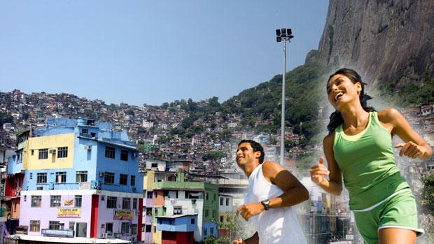 CHAMADA CARROSSEL - Corrida Rocinha (Foto: Ag. Estado)
