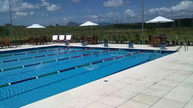 Centro de Natação Alphaville Jacuhy, na Serra, Espírito Santo (Foto: Reprodução/Facebook)