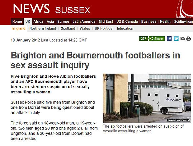 BBC caso de abuso sexual (Foto: Reprodução)