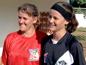 Polaca e Polaquinha dividem  (Foto: Reprodução/TVCA)