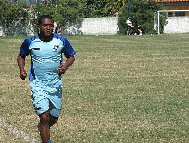 Jobson treino Botafogo (Foto: Thales Soares / Globoesporte.com)