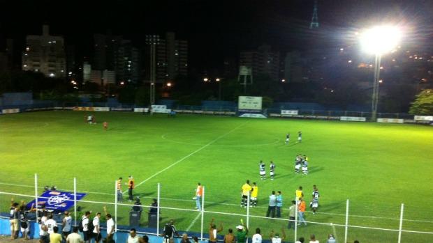 Apagão no Salvador Costa (Foto: Bruno Marques/Globoesporte.com)