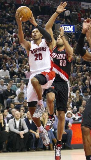 NBA Portland x Toronto Leandrinho (Foto: Reuters)