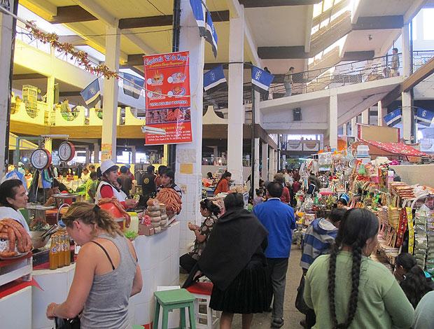 Mercado Central Sucre Flamengo (Foto: Richard Souza / Globoesporte.com)