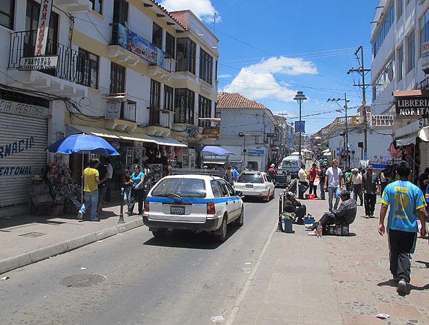 Rua de Sucre Flamengo (Foto: Richard Souza / Globoesporte.com)