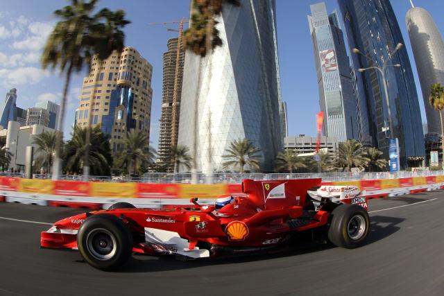 Fórmula 1 Exibição Ferrari Doha Catar Marc Géne (Foto: Divulgação/Ferrari)