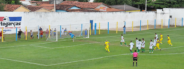 Barra enfrenta o Sorriso pelo estadual, mas partida fica só no empate. (Foto: Claudiomar Alves/TVCA)