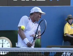 Tomas Berdych tênis Nicolas Almagro Australian Open (Foto: Reprodução)