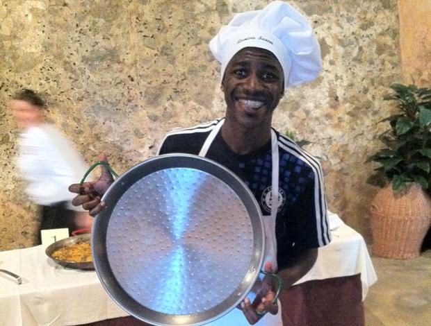 Ramires Chelsea concurso culinário (Foto: Divulgação/Plural Comunicação)