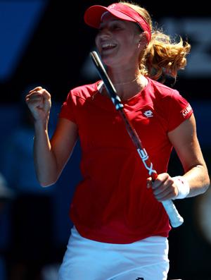 Ekaterina Makarova tênis Australian Open oitavas (Foto: Getty Images)