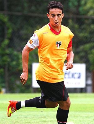 Jadson no treino do São Paulo (Foto: Luiz Pires / VIPCOMM)