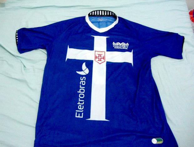 novo uniforme camisa 3 vasco azul (Foto: Reprodução Internet)