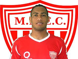 Hernane jogador do Mogi Mirim (Foto: Reprodução / Site Oficial)
