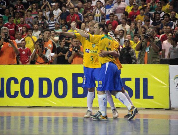 Brasil vence seleção do Piauí em amistoso de futsal (Foto: Zerosa Filho/CBFS)