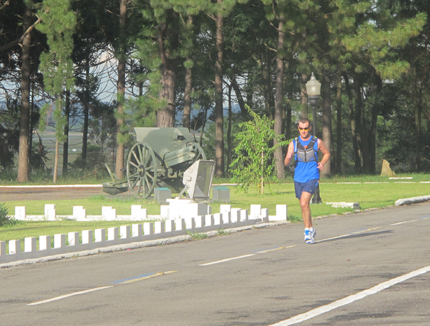 Richard Donovan, maratonista (Foto: Diego Ribeiro/Globoesporte.com)
