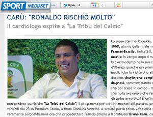 ronaldo entrevista (Foto: Reprodução/Sport Mediaset)