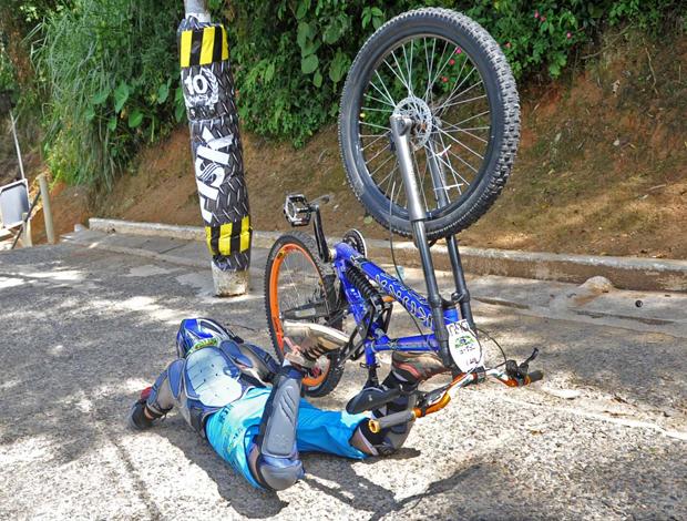Descida das Escadas de Santos (Foto: Ivan Storti/Globoesporte.com)