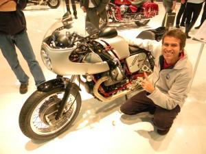 Salão de motovelocidade Fausto Macieira 1 (Foto: Arquivo pessoal)