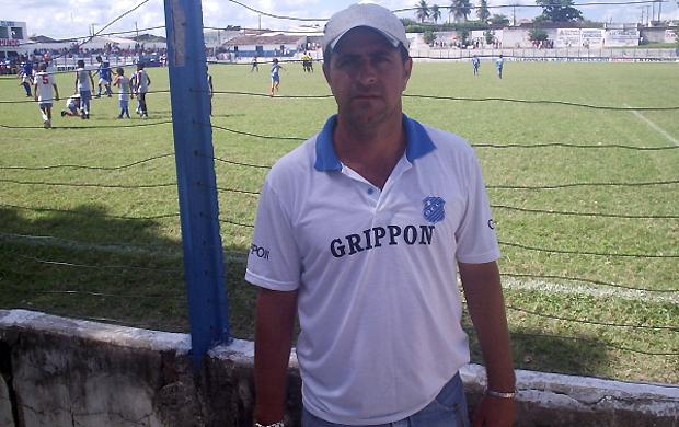 Moisés Alves, técnico do São Mateus (Foto: Divulgação)
